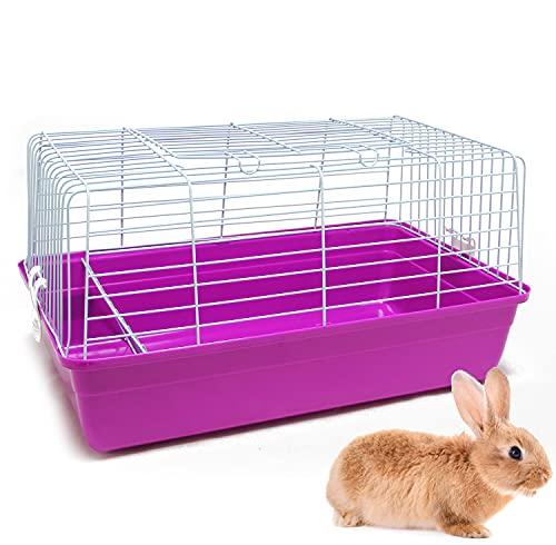 BPS Jaula Conejo Parque para Conejos Cobayas Mascotas Animales Pequeños con Puerta Superior 60x35.2x32 cm Color al Azar BPS-1266