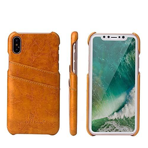 GHC Fundas & Covers para iPhone 12/12 Pro / 12 Pro MAX 12 Mini, Cera de Aceite de Cera de Cuero de Espalda de Lujo Original de la Marca del Casco de Alta Gama para iPhone 12 11pro MAX