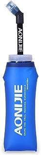 comprar comparacion Docooler Botella Blanda comprimible Pajita, sin BPA, para Corredores,Running Soft Flask Botella,Color 350ML 600ML