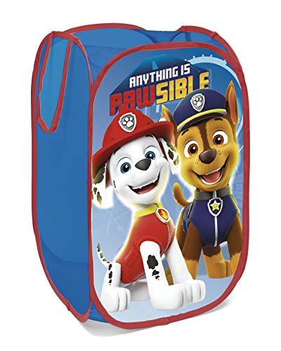 familie24 Disney Auswahl Spielzeugkiste Spielzeugbox Wäschekorb Aufbewahrungsbox Kleiderbox (Paw Patrol Boy NEU)
