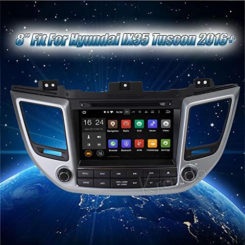 Autoradio Krando Android 7.1 CAUTORADIO Navigation System für Hyundai Tucson IX35 2015 2016+ Multimedia Wifi 3G BT
