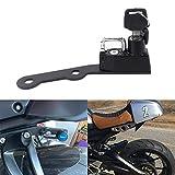 GUAIMI Motorcycle Helmet Lock for Yamaha XSR900 2015-2016 MT-09 2013-2017 FZ-09 2013-2017 FJ-09 2013-2017 - Black