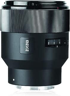 MEIKE 85 mm F / 1.8大口径フルフレームマニュアル焦点プライムレンズ支持電子自動開口標準的な肖像レンズExif 順応するのための ソニーの電子マウント・カメラA 9 A 7 III A 7 II A 7