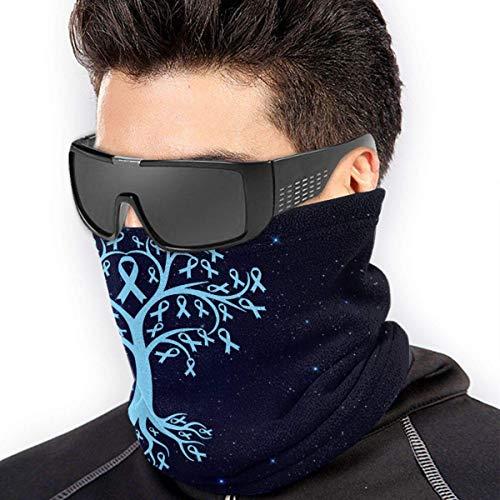 Trista Bauer Prostatakrebs-Bewusstsein Baumwurzeln Männer Frauen Gesichtsmasken Kopfbedeckung Halswärmer Wiederverwendbare Maske