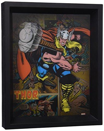 Pyramid International Marvel Comics Thor Hammer 3D Cartel lenticular, multicolor, 10 x 8 pulgadas