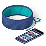 HoomBand Innovative Headband for Sleep, Travel, Meditation | 3.5mm Jack Wired | Ultra Flat Speakers | Free Access to Hypnotic Stories Created by Sleep Experts (Size S)