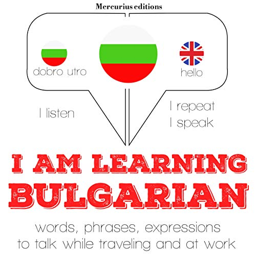 I am learning Bulgarian audiobook cover art