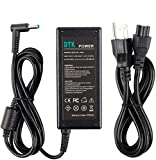 DTK 19.5V 2.31A 45W Ac Laptop Charger for HP 741727-001 740015-003 HSTNN-DA40 Adapter Blue Tip : 4.5 X 3mm with Center pin Inside Notebook Computer PC Power Cord Supply Source Plug