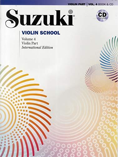 Suzuki Violin School 4 (Buch/ Audio CD) (The Suzuki Method Core Materials)