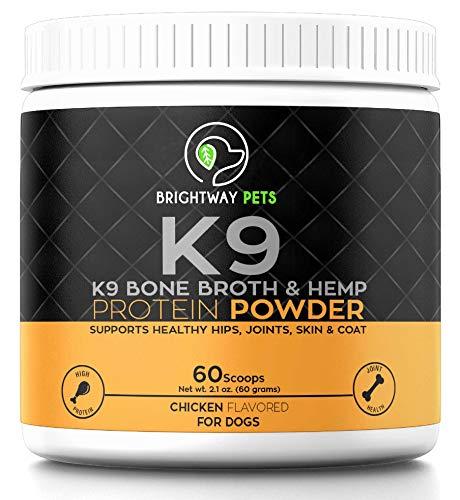 K9 Bone Broth Powder Concentrate Organic