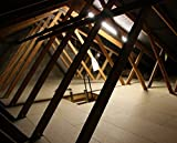 LoftZone Attic Storage Kit Above Insulation (12ft X 12ft Kit) (Without Boards)