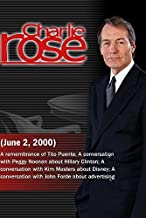 Charlie Rose with Tito Puente; Peggy Noonan; Kim Masters; John Forde (June 2, 2000)