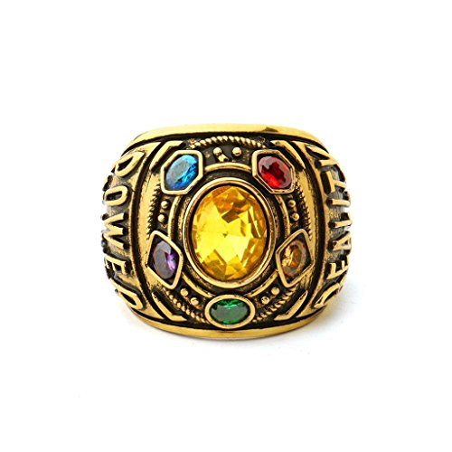 Thanos Rings Have Infinity War Power Ring Power My Hero Academian Cosplay Mystic (alloy 1, 10)