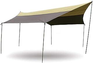Okuyonic Tente de Bivouac, bâche de Toile de Traitement imperméable Longue durée de Vie Durable pour Le Camping
