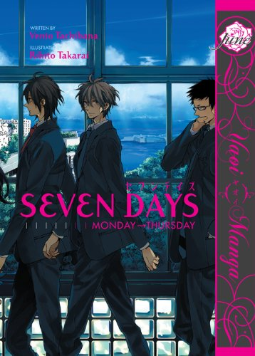 Seven Days: Monday-Thursday (Yaoi Manga) (English Edition)