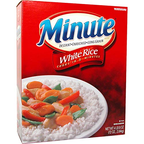 Minute Long Grain White Rice 72 Oz Box Pack of 2