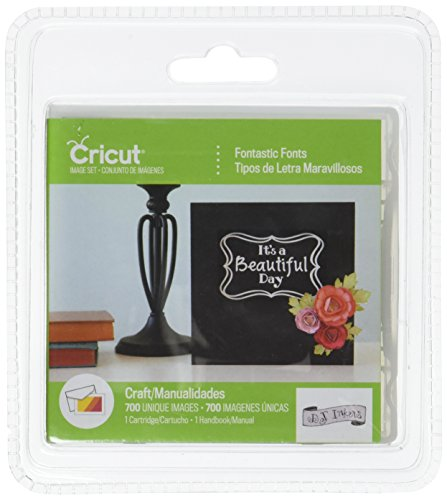Cricut Cartridge Fontastic Fonts