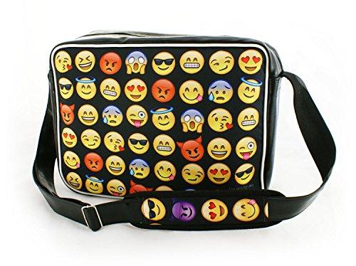 Oryginale schoudertas schooltas sporttas messenger laptop bag 20 varianten Emoji