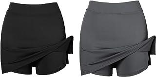 Misterjolly Women's Skort Girls Active Athletic Skirt for Running Tennis Golf Workout Sports S-XXL