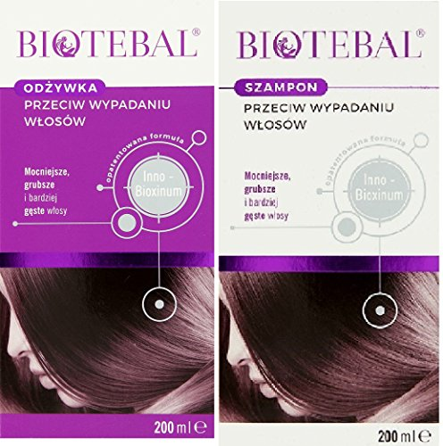 Biotebal Set mit Shampoo & Spülung gegen Haarausfall
