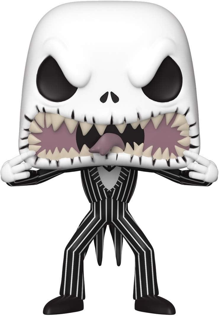 Funko- Pop Disney: The Nightmare Before Christmas-Jack (Scary Face) Figura Coleccionable, Multicolor (48182)