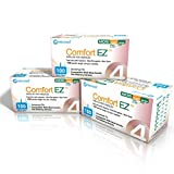 Clever Choice Comfort EZ Insulin Pen Needles,300 Needles, 32G 4 Millimeter and 5/32Inch - 3 Pack