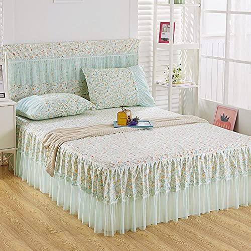 Liyingying Falda de Encaje Falda de Dibujos Animados, Familia y la Novia, la Mejor Ropa de Cama para Decorar el dormitorio-10_120cmx200cm
