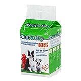 IRIS USA Neat 'n Dry Premium Pet Training Pads, Regular, 17.5' x 23.5', 25 Count
