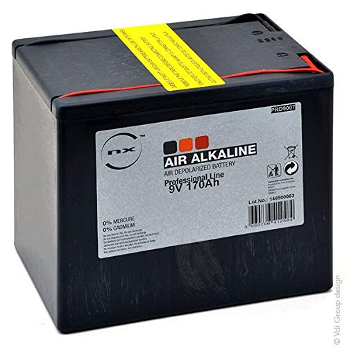 NX - Batterie Luftsauerstoff Alkaline 9V 170Ah