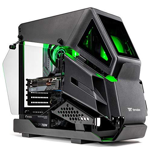 Thermaltake AH-390 Liquid-Cooled PC (AMD Ryzen 7 5800X, RTX 3090, 16GB RGB 3600Mhz DDR4 ToughRAM RGB Memory, 1TB Gen4…