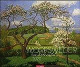 Worpsweder Landschaften. Wandkalender 2020. Monatskalendarium. Spiralbindung. Format 55 x 46 cm - Weingarten