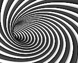 Arte Abstracto De Hidromasaje Blanco Negro Diy 5D Diamante Pintura Completa Ronda Taladro Mosaico Bordado Punto Cruz Punto Cuentas Decoración Hogar Regalo Artesanal Mural