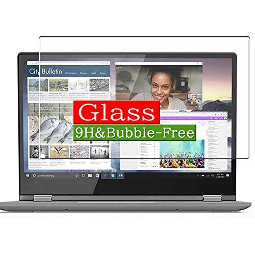 VacFun Vidrio Templado Protector de Pantalla, compatible con Lenovo Yoga Flex 3 14' Visible Area, 9H Cristal Screen Protector(cobertura no completa)