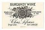 100 Flaschenetikett Etiketten für Homemade Wein making- schälen und Stick