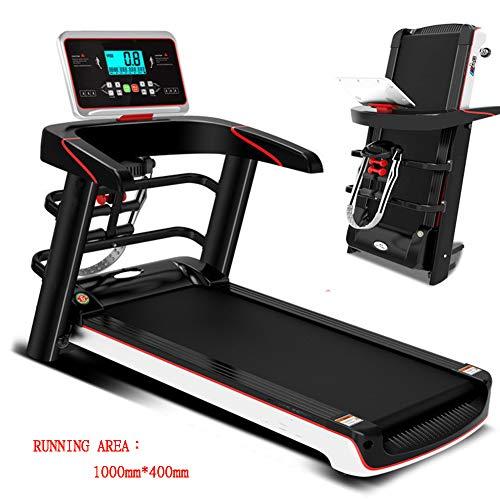 Lhlbgdz Cinta de Correr eléctrica motorizada Máquina de Correr Plegable Máquina de Caminar Equipo de Gimnasio portátil para Entrenamiento físico