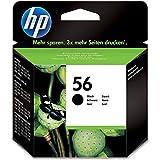 HP 56 Original Tintenpatrone schwarz hohe Kapazität 19ml 520 Seiten 1er Pack