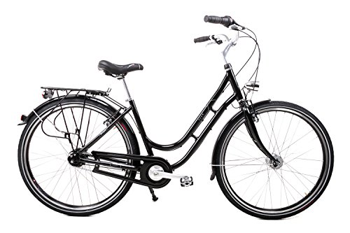 "Unbekannt 28\"" Zoll Alu VAUN Damen Fahrrad City Bike Shimano Nexus 8 Gang Nabendynamo Black"