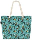 VOID Cebo de Pesca Bolsa de Playa 58x38x16cm 23L Shopper Bolsa de Viaje Compras Beach Bag Bolso