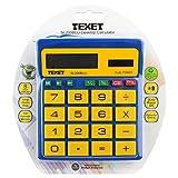 Texet SI200blu Taschenrechner mit großen Tasten für Grundschule blau