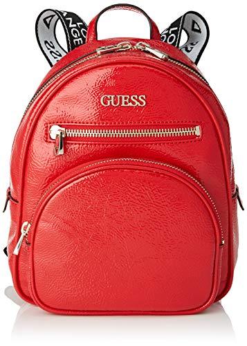 Guess New Vibe Backpack, Mujer, rojo, Talla única
