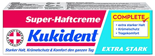 Kukident Super-Haftcreme Extra Stark Complete - 40ml - 4x