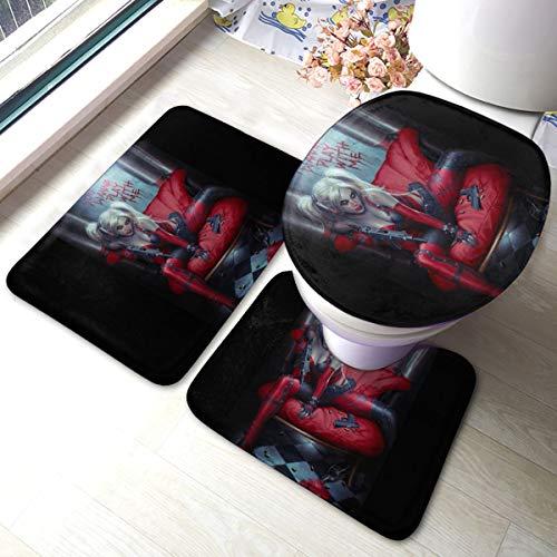 517whrxg57L Harley Quinn Bath Mats