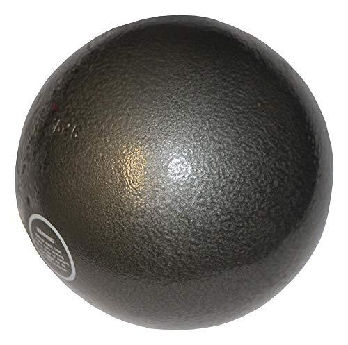 Boje Sport Stoßkugel für Wettkampf + Training 7,26 kg aus Gusseisen - Dark Fog