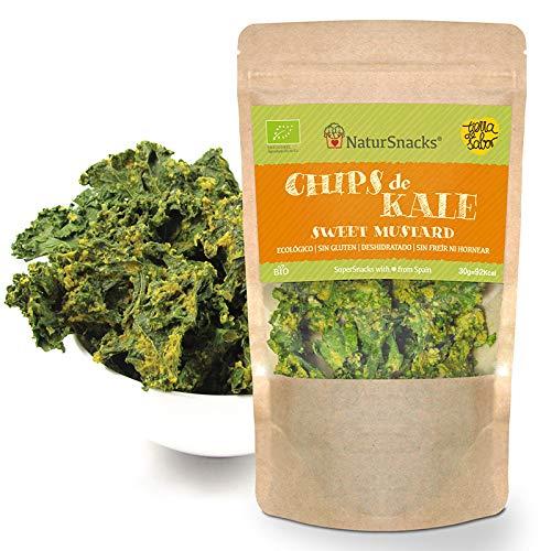 BIO Kale Chips - Sweet Mustard 3x30gr