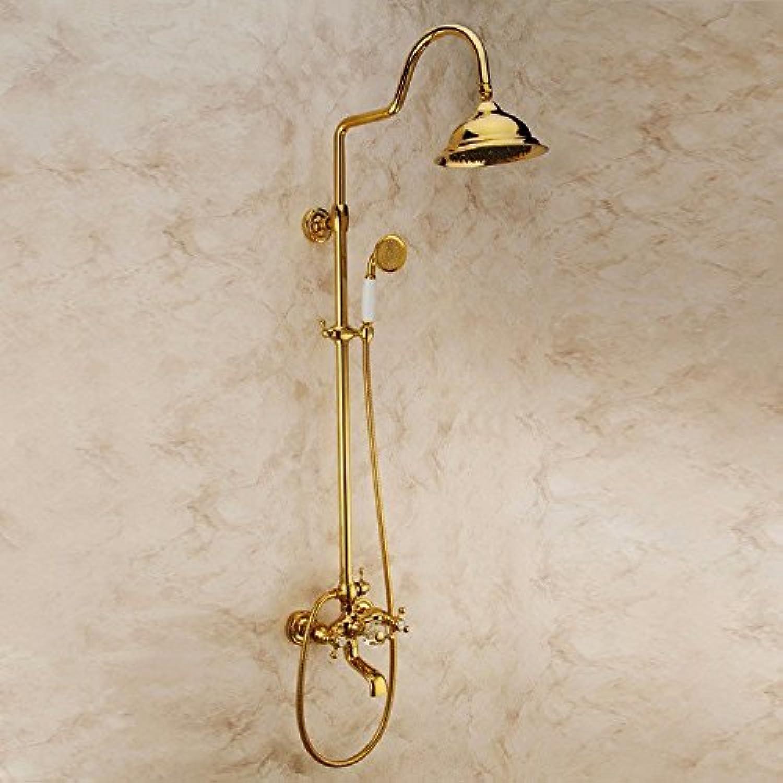 Volle Kupfer Gold Dusche antike Dusche Dusche voll Kupfer heie und kalte Dusche oder Dusche einstellen
