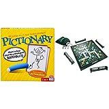 Mattel Games Pictionary Disney Juegos de Mesa, Multicolor, (DKD51) + Scrabble Original, Juegos de Mesa para Adultos y Niños A Partir de 10 Años (Y9594)
