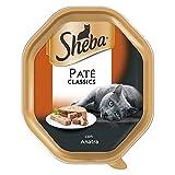 sheba patè classicper gatto da 85 gr, anatra
