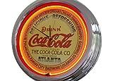Reloj de neón Atlanta Coca-Cola, reloj decorativo con luz, estilo retro de los años 50