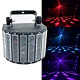 LED RGBW mini LED butteryfly flower soward Stage effect lights professional for home entertain DJ disco party light (LED butteryfly)