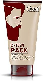 Qraa D- Tan Pack for Men,100g.Pack of 2.